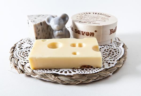 Bien connu Composition Plateau de savons fromages - Bulles de Savon  TV84