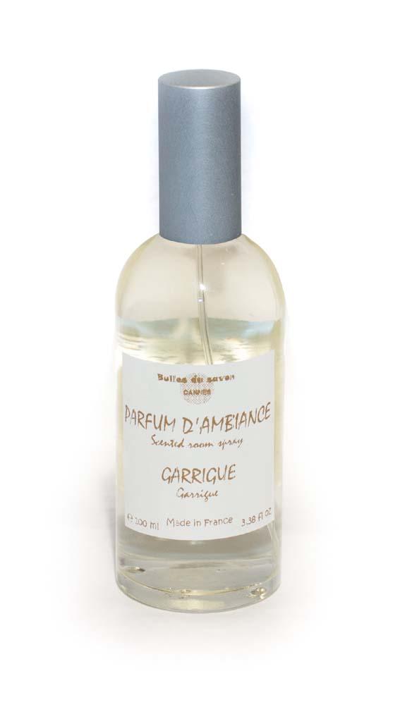 parfum d 39 ambiance garrigue bulles de savon savonnerie. Black Bedroom Furniture Sets. Home Design Ideas