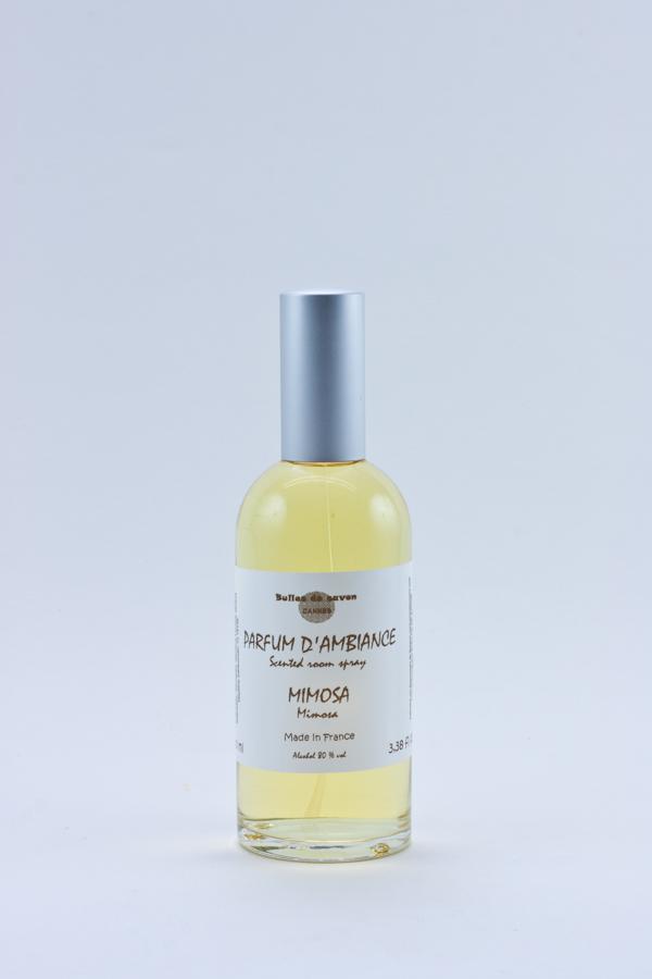 parfum d 39 ambiance mimosa bulles de savon savonnerie artisanale cannes. Black Bedroom Furniture Sets. Home Design Ideas