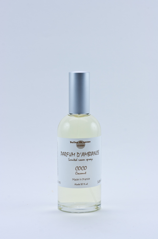 parfum d 39 ambiance coco bulles de savon savonnerie. Black Bedroom Furniture Sets. Home Design Ideas